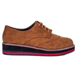 Vices Chaussures de chameau brun