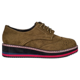 Vices Chaussures d'olive