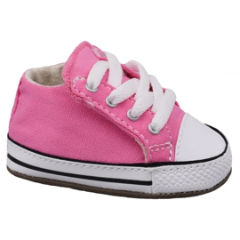 Rose Converse chaussures Chuck Taylor All Star Cribster Jr 865160C