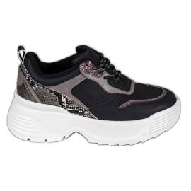 Sneakers sur la plateforme VICES noir