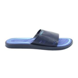 Pantoufles pour hommes pour la piscine bleu foncé Atletico
