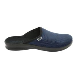 Befado chaussures pour hommes pu 548M019 marine