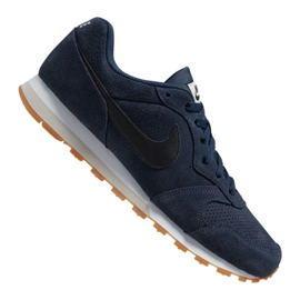Chaussures Nike Md Runner 2 Suede M AQ9211-401 marine