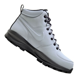 Gris Chaussures Nike Manoa Leather M 454350-004