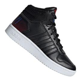 Chaussures Adidas Hoops Mid 2.0 Jr EE8547 noir
