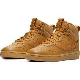Chaussures Nike Court Borough Mid 2 Boot Jr BQ5440-700 brun