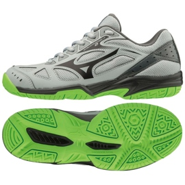 Chaussures Mizuno Cyclone Speed 2 Jr V1GD191037 gris gris / argent