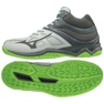Chaussures Mizuno Thunder Blade 2 Mid M V1GA197537 gris gris / argent