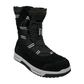 Timberland Snow Stomper Pull On Wp Jr A1UIK chaussures d'hiver noir