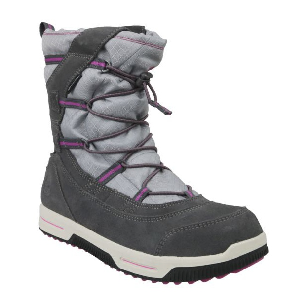 Bottes d'hiver Timberland Snow Stomper Pull On Wp Jr A1UJ7 gris