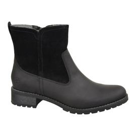 Chaussures d'hiver Timberland Bethel Biker W 6914B noir