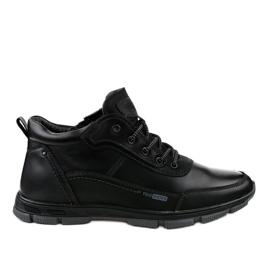 Chaussures de trekking noires R7163-1