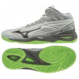 Chaussures Mizuno Wave Mirage 2.1 Mid M X1GA187037 gris gris / argent