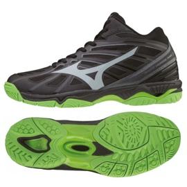 Chaussures Mizuno Wave Hurricane 3 Mid M V1GA174537 noir noir