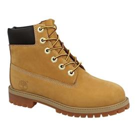 Chaussures Timberland 6 In Premium Wp Boot Jr 12909 jaune