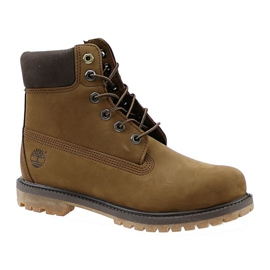 Chaussures Timberland 6 Premium Boot Jr A19RI brun