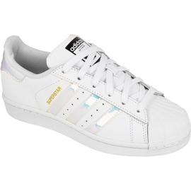 Chaussures Adidas Originals Superstar Jr AQ6278 blanc