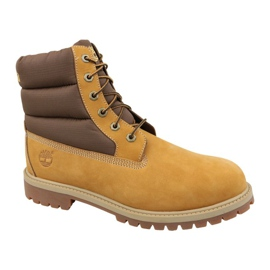 Bottes d'hiver Timberland 6 In Quilit Boot Jr C1790R brun