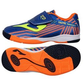 Chaussures d'intérieur Joma Tactil 904 In Jr TACW.904.IN bleu bleu