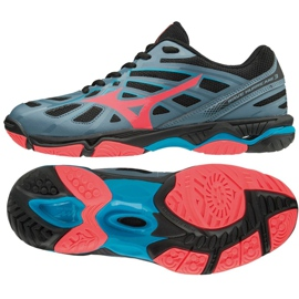 Chaussures Mizuno Wave Hurricane 3 W V1GC174065 gris gris / argent