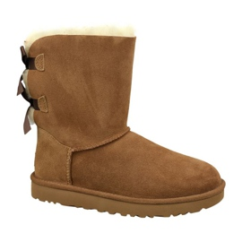 Chaussures Ugg Bailey Bow Ii W 1016225-CHE brun
