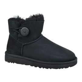 Chaussures Ugg Mini Bailey Button Ii W 1016422-BLK noir