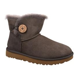 Chaussures Ugg Mini Bailey Button II L 1016422-MOLE brun