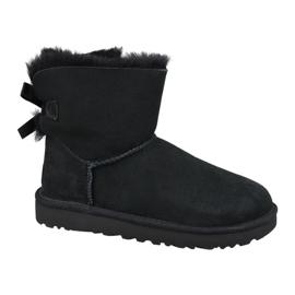 Chaussures Ugg Mini Bailey Bow Ii W 1016501-BLK noir