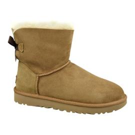Chaussures Ugg Mini Bailey Bow Ii W 1016501-CHE brun