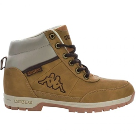 Kappa Bright Mid Jr 260239T 4141 chaussures brun
