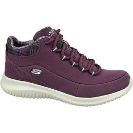 Chaussures Skechers Ultra Flex W 12918-BURG pourpre
