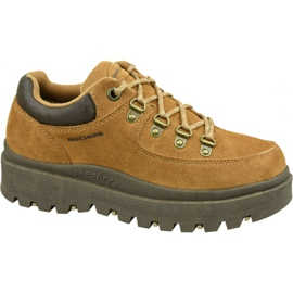 Chaussures Skechers Shindigs-Stompin 48582-TAN brun