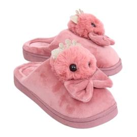Pantoufles femmes sales roses DD112 Rose