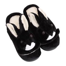 Pantoufles femmes noires MA17 noires
