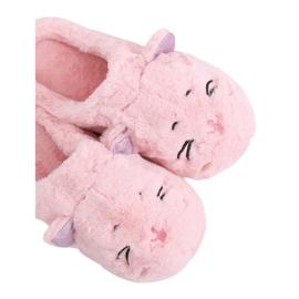 MA16 Pink pantoufles pour femmes Pink rose