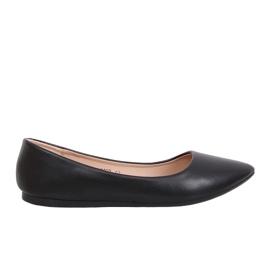 Black Ballerina Almond Toe Noir CD52P Noir