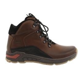Chaussures de trekking pour hommes Riko 903 marron / noir