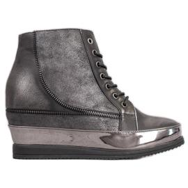 Sergio Leone Silver Sneakers gris