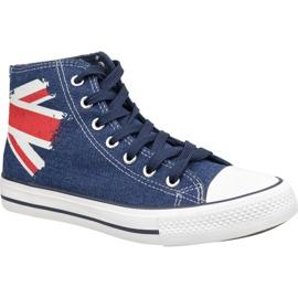 Chaussures Lee Cooper High Cut 1 LCWL-19-530-041 bleu