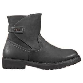 Sergio Leone Bottines noires confortables