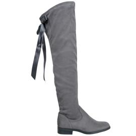 Seastar Bottes cuissardes élégantes gris