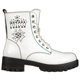 Goodin Bottes blanches