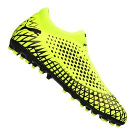 Puma Future 4.4 Mg Jr 105697-03 chaussures de football jaune
