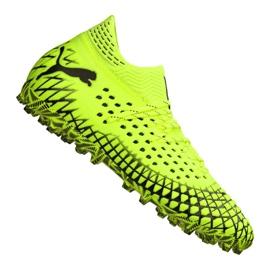 Puma Future 4.1 Netfit Mg M 105678-03 chaussures de football jaune jaune