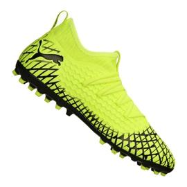 Chaussures de foot Puma Future 4.3 Netfit Mg M 105684-03 jaune jaune