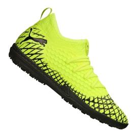 Puma Future 4.3 Netfit Tt M 105685-03 chaussures de football jaune jaune