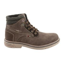 American Club Chaussures de club américains RH35 marron brun