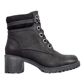 Goodin Bottines isolées noir