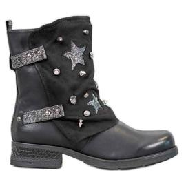 Super Mode Ouvriers décorés noir