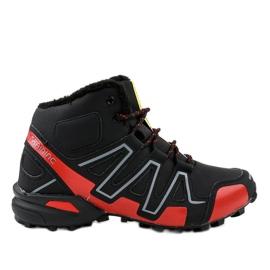 Chaussures de trekking isolées noires BN8810